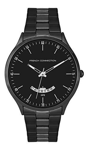 French Connection Quarz Uhr mit Edelstahl Armband FC143BBM