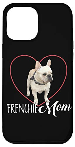 iPhone 12 Pro Max Heart Frenchie Mom Case