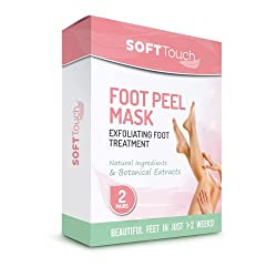 The soft touch foot peel is one of our top sellers.