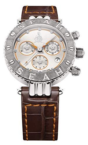 SEAH Galaxy Zodiac Sign Aquarius edición Limitada 38mm Reloj.