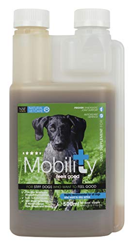 Natural VetCare Mobility Veterinary Strength Joint Supplement for Stiff Dogs, 500 ml, NVC223.0500