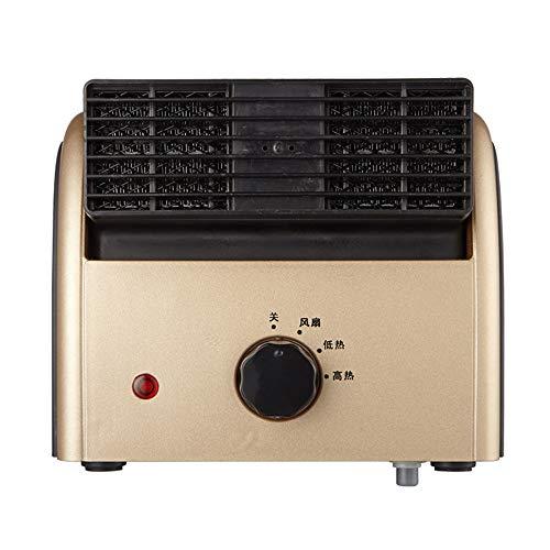 MAZHONG Radiateur électrique Mini chauffage et refroidissement Double usage de ventilateur Home Office Dumping Power Off Economie d'énergie