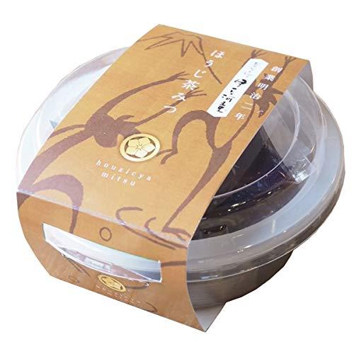 伊豆河童 カップ入り ほうじ茶 あんみつ 1個 (角切りところてん95g 餡35g みつ25g) 和菓子
