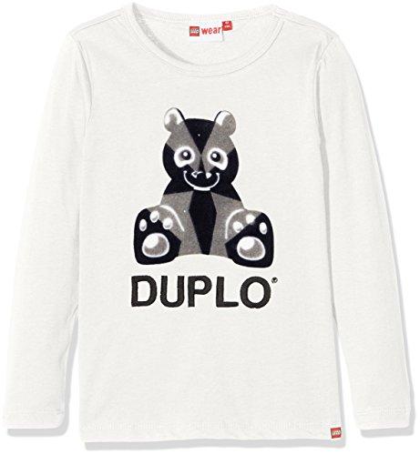 Lego Wear Duplo Texas 701 - T-Shirt à Manche Longues Top à Manches Longues Bébé garçon Blanc (Off White) 18-24 Mois (Taille Fabricant: 86) Lot de