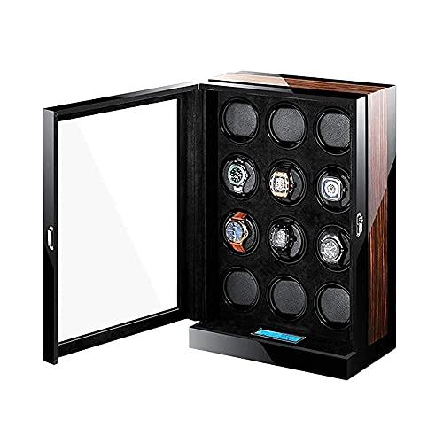 Cajas giratorias para Relojes Watch Winde12 Relojes, Caja de bobinado giratoria automática...