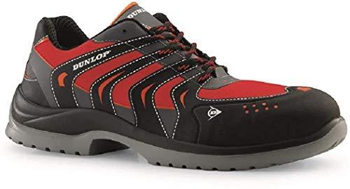 Dunlop Sport Racer - Zapatos de protección laboral S1P SRC, talla 42,...
