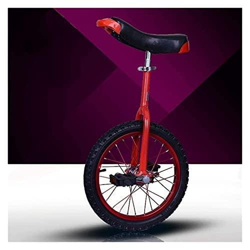Unicycles Bike Adultos Niños Principiante Adolescente Unisex, 16/18/20 Pulgadas Sun Balance Bike Asiento de Altura Se Puede Ajustar libremente, con Rueda de llanta de aleación,
