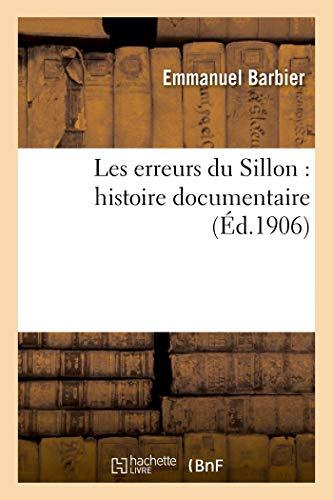 Les erreurs du Sillon: histoire documentaire (Religion)