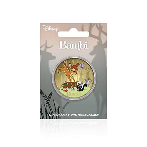IMPACTO COLECCIONABLES Disney Bambi Classics Collection Limitierte Auflage Strumpf-Füllstoff Sammlergoldmünze / Medaille