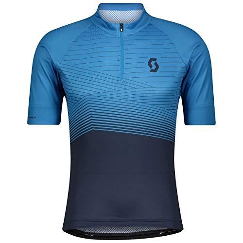 Scott Endurance 20 Fahrrad Trikot kurz blau 2021: Größe: M (46/48)