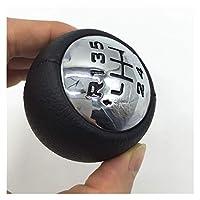 5/6速変速ノブレバースティックペン/フィット感を-Peugeot / 307 308 3008 407 807パートナーB9ティーピーシトロエンC3(A51)C4ピカソ (Color Name : 5 Speed)