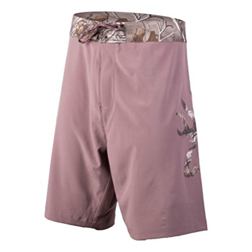 Browning Men's Reedy Boardshort, Color 175239 Deep Taupe, Size XL