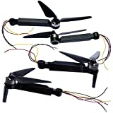 GzxLaY Spare Parts Arm Propeller Blade Body Shell Camera Remote Controler for SJR/C F11 SJRC F11 RC Quadcopter Drone Accessories F11Pro Quadcopters Parts Accessories (Color : 4pcs Arms)