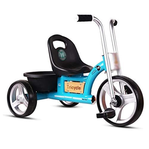 DX Bicicleta Triciclo Niños Indoo Doble Propósito 2 3 Cochecito de bebé de 5 años