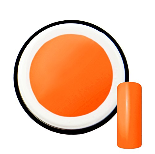 Orange Fluo # 3 gels uv gel 5 ml – Fabriqué en Allemagne