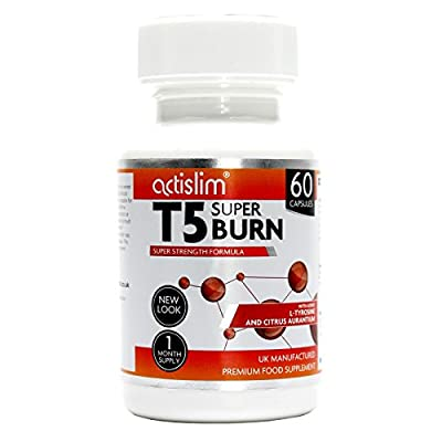 T5 Max Strength Fat Burners   Best Slimming Diet Pills Super Strong   T5s Weight Loss Tablets (60 Capsules)