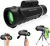 Monocular Telescope 12x50 for Adults Compact High Definition Powered Powerful...
