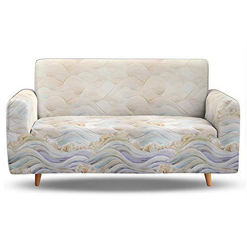 Upgrade Funda para Sofa de 3 Asiento,fundas de sofa elasticas seccional para sala de estar perros mascotas niños,funda de sofa protectoras de muebles antideslizantes para 1 2 3 4 plazas(gris)(Color:W