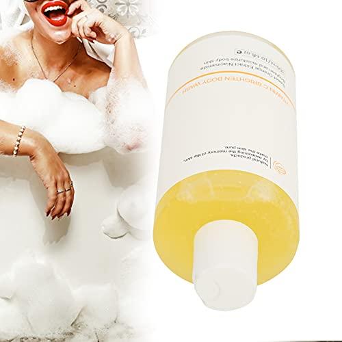Gel de baño hidratante para el cuerpo, 300 ml VC Nicotinamida Gel de ducha Limpieza suave Brillo Gel de baño hidratante para el cuerpo