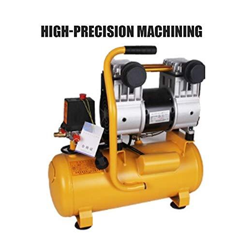 Luftpumpe Ölfreie Silent Air Compressor, 980W-15L Kleine Luftpumpe, Kompressor bewegliches Aluminium Behälter-Luftpumpe, Sicherheitsmagnetventil Lüftungs Dekoration