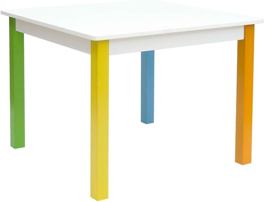 Tavolo per sedia multifunzione per bambini per imparare a giocare Zerone motivo alfabeto in plastica tavolo e sedia
