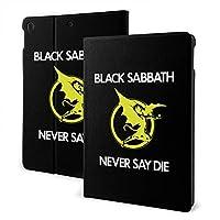 ブラックサバス Black Sabbath ipad 7th & ipad air3スマートタブレット ケース カバー スタンド機能付き 全面保護型 オートスリープ機能 レザーケース 保護カバー