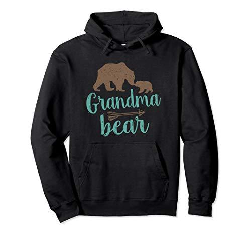 Cute Grandma Bear Pullover Hoodie