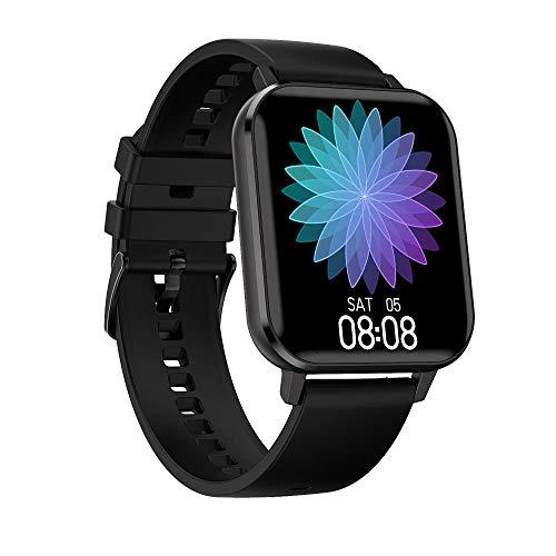 LKXL Armbanduhren Intelligente Uhr Multisport-Modus steuern Musik Elektrokardiographie