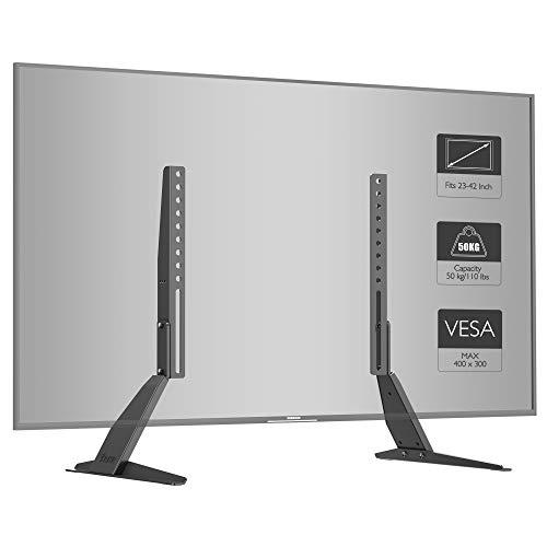 1home Soporte Universal TV sobremesa Montaje Pedestal
