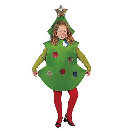 CHILD CHRISTMAS TREE COSTUME - Apparel Accessories - 1 Piece