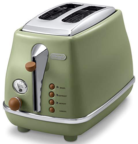 デロンギ ポップアップトースター オリーブグリーン CTOV2003J-GR