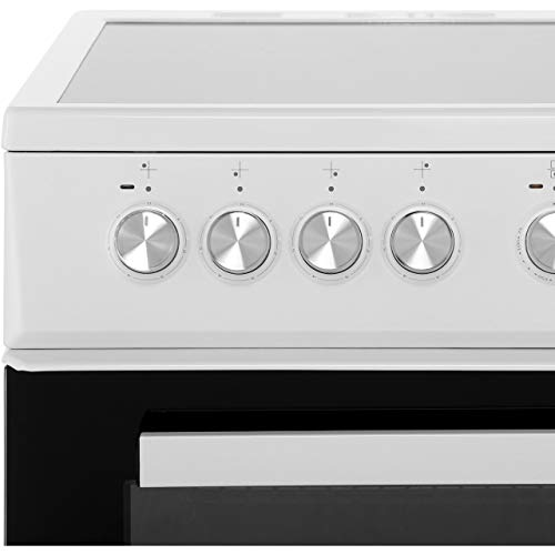 Beko KDVC563AW 50cm Electric Cooker with Ceramic Hob - White