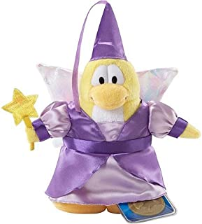 "Club Penguin Series 2 Fairy 6.5"" Plush Figure [Purple Dress] (Jakks Pacific)"
