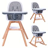 Baby High Chair with Double...