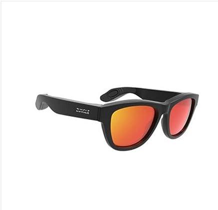f2ba21ca80 QYQ Conducción ósea Gafas para Auriculares Gafas de Sol inalámbricas  Bluetooth Tipo de Oreja-aro