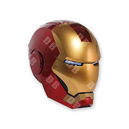 Supermodel Anime Marvel Armor 1/1MK7 Live-Action Iron Man Mask Helmet Cosplay Wearable Model Birthday Gift Handmade Toy Model Statue D-20-7-1 image