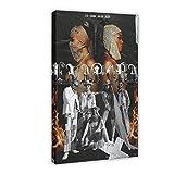 Music Evapora – Iza, Ciara & Major Lazer Leinwand-Poster,