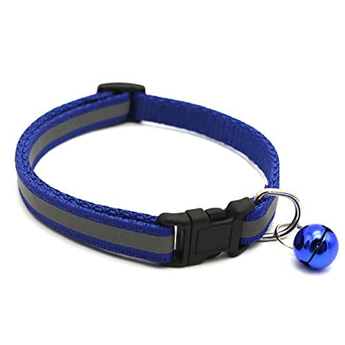 Ajing Luz LED intermitente ajustable de seguridad luminosa para perro, cachorro, collar de perro LED Illumiseen, collar de perro LED para perro, collar de gato en la oscuridad