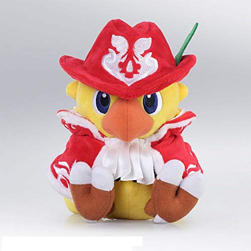 Square Enix Chocobo's Mystery Dungeon Every Buddy! Plush Figure Chocobo Red Mage 18 cm