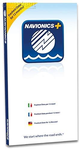 Navionics+ µSD-Karte zum Download Karte
