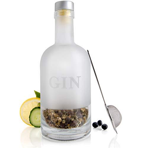 Modern Gourmet Foods - Gin Selber Herstellen - Gin DIY Geschenkset - Geschenkidee Für Ginliebhaber
