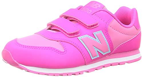 New Balance PV500V1, Zapatillas, Pink GLO, 33 EU