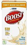 BOOST VHC-Flavor Vanilla Calories 530/ 237 mL Packaging 8 fl oz carton - Case of 27