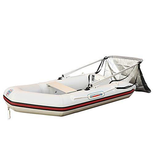Dequate Boots - Sombrilla plegable para barco, resistente al agua y a los rayos UV, para barcos hinchables, kayak, velero, tienda de campaña, toldo plegable para barcos hinchables y camping