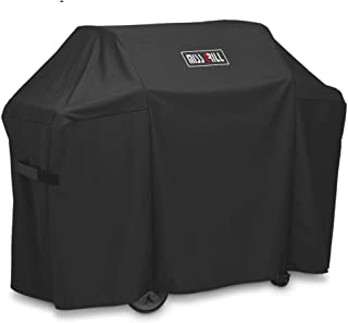 DallasCover 7130 Grill Cover Fits Weber Genesis II 3 Burner Grill and Genesis 300 Series Grills (Compared to 7130),58 x 44.5-Inch Heavy Duty Waterproof & Weather Resistant Outdoor Barbeque Grill Cover