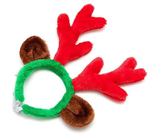 Midlee Weihnachten Rentiergeweih mit Ohren für Große Hunde