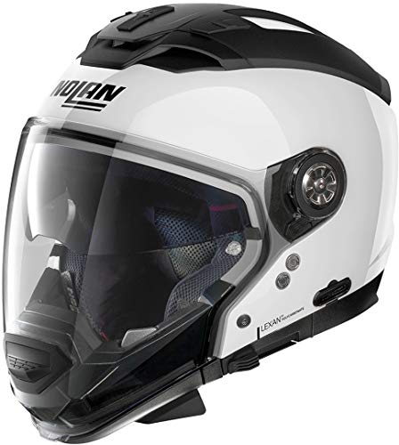 NOLAN Pure White M N70-2 GT Special N-Com, Hombre