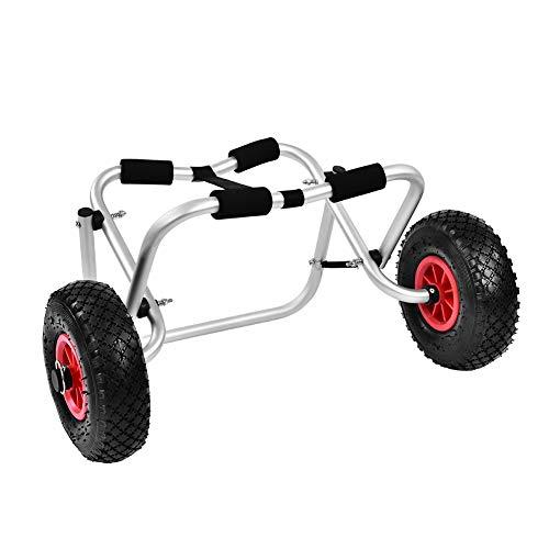 Carrito de Kayak, de aleación de Aluminio, para Transporte de Canoa o Kayak, hasta 80 kg