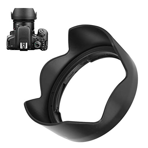 Bindpo ES-68II Lens Hood, Camera Lens Sunshade Rainproof Cover Replacement for Canon EOS EF 50mm f/1.8 STM Lens