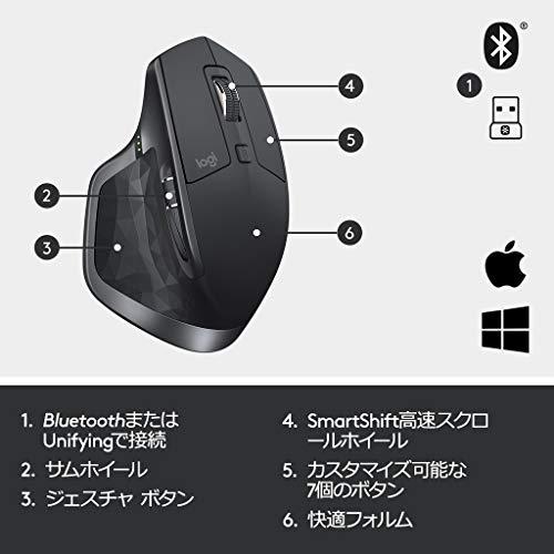 417vWdbzjrL-「Logicool MX Master 2S」ワイヤレスレーザーマウスを購入したのでレビュー!